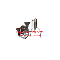 Mesin Penepung Jagung With Cyclone (Hammer Mill With Cyclone) Material Stainless Steel - Mesin Penghancur - Mesin Penghalus Biji-Bijian Kapasitas Mesin 100-200 Kg / Jam