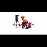 Mesin Penepung Jagung With Cyclone (Hammer Mill With Cyclone) Besi - Mesin Penghalus Biji-Bijian Kapasitas Mesin 100-200 Kg / Jam
