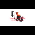 Mesin Penepung Biji Kopi With Cyclone (Hammer Mill With Cyclone) Besi - Mesin Penghancur - Mesin Penghalus Biji-Bijian 1