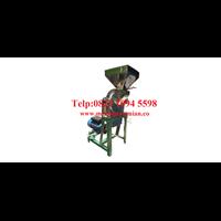 Mesin Penepung Daun Teh (Disk mill) Stainless Steel - Mesin Penggiling Biji-Bijian Kapasitas Mesin 55 Kg / Jam