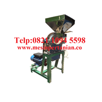 Mesin Penepung Daun Teh (Disk mill) Stainless Steel - Mesin Penggiling Biji-Bijian Kapasitas Mesin 650 Kg / Jam