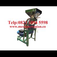 Supplier Mesin Penepung Daun Teh (Disk mill) Stainless Steel - Mesin Penepung Biji-Bijian Kapasitas Mesin 55 Kg/Jam