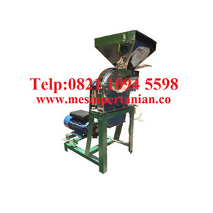 Dari Agen Mesin Penepung Daun Teh (Disk mill) Stainless Steel - Mesin Penepung Biji-Bijian Kapasitas Mesin 180 Kg/Jam 0