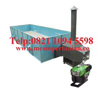 Distributor Mesin Box Dryer - Mesin Pengering Biji Jarak Kapasitas Mesin 3000-4000 Kg/Proses Tanpa Pengaduk - Mesin Pengering Biji-Bijian