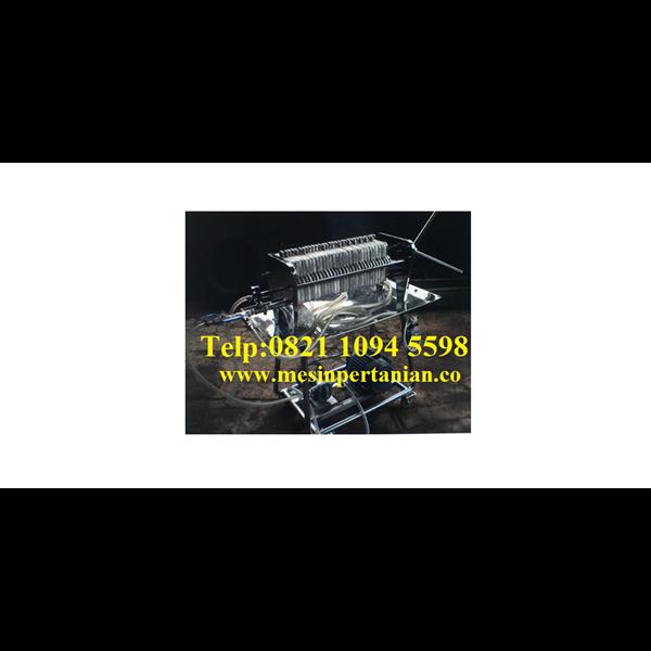 Mesin Filter Press - Mesin Pengolahan Minyak Jarak