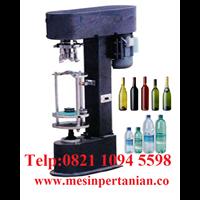 Mesin Penutup Botol Plastik & Alumunium - Mesin Pertanian