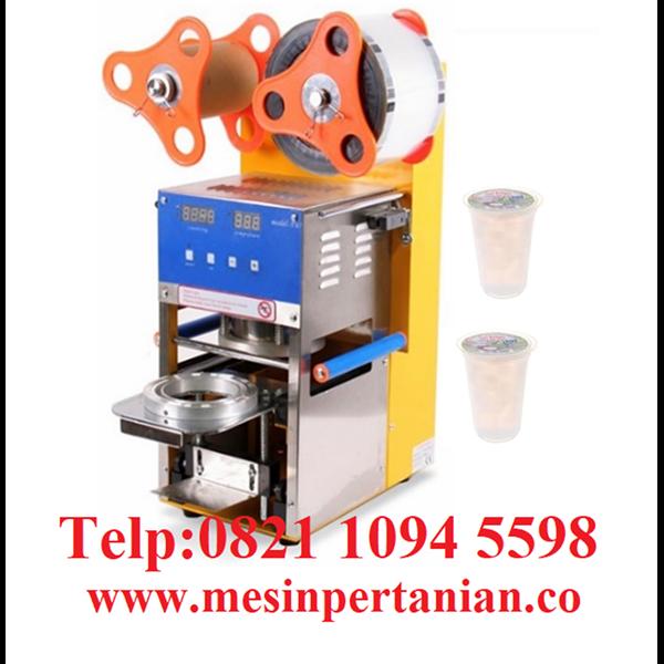 Mesin Pengemas Cup Nata De Coco - Mesin Pengolahan Kelapa - Mesin Pertanian