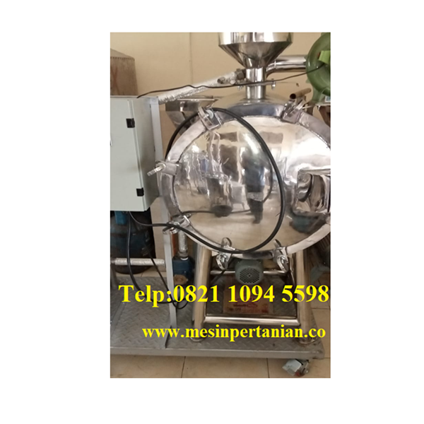 Mesin Pengering Tepung Kelapa - (Vacuum Dryer) - Mesin Pengolahan Kelapa
