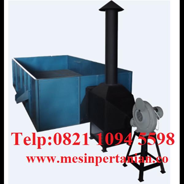 Mesin Box Dryer - Mesin Pengering Biji Kopi Kapasitas Mesin 750 Kg/Proses Tanpa Pengaduk - Mesin Pertanian