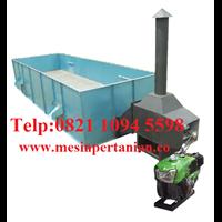 Mesin Box Dryer - Mesin Pengering Biji Kopi Kapasitas Mesin 3000 - 4000 Kg/Proses Tanpa Pengaduk - Mesin Pertanian