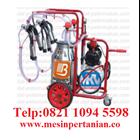 Portable Milking Machine - Single Bucket - Double Milking 1