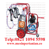 Portable Milking Machine - Single Bucket - Double Milking