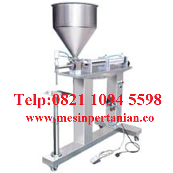 Paste Filler Portable Semi Auto Single Nozzle