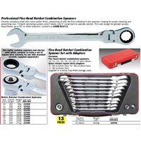 KENNEDY Flex-head Ratchet Combination Spanner 1