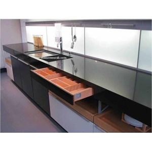 Jual meja granit hitam ex china meja dapur meja kitchen for Harga granit untuk kitchen set