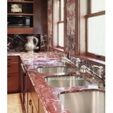 Red Desk Maron Red Grooved Kitchen Table Kitchen Sink Bar Pantry