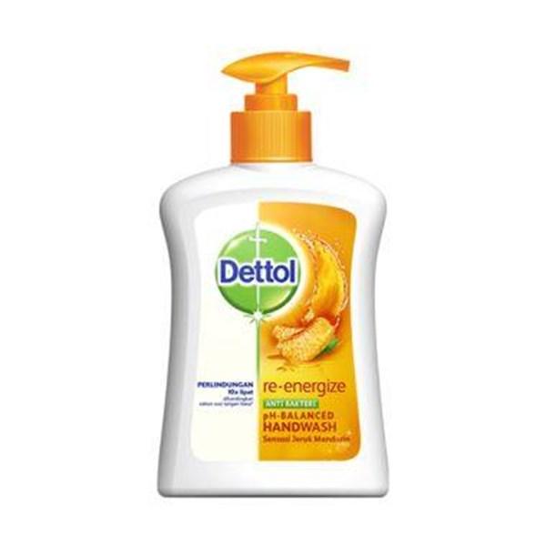 DETTOL HAND SOAP PUMP 225 ML (Sabun cuci tangan)