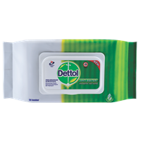DETTOL WIPES 10s x 40 pax/carton