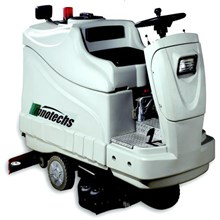 RIDE ON SCRUBBER & SWEEPER DRYER