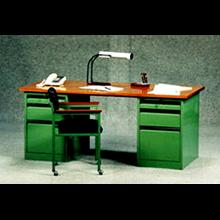 ACROE Two Blocks Writing Desk