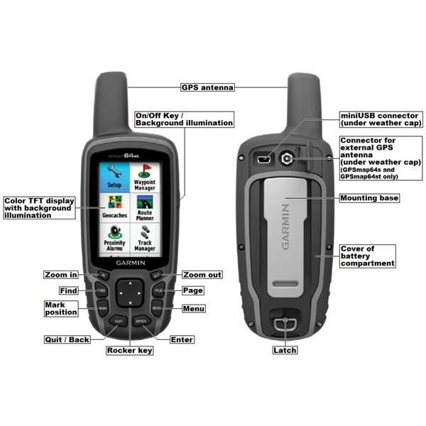 Jual GPS Tracker Garmin Gpsmap 64s