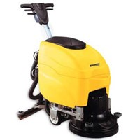 Scrubber  KRISBOW KW1800667 Floor Scrubber Drier 1000W Yellow 1