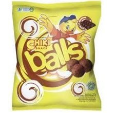 Chiki Balls chocolate