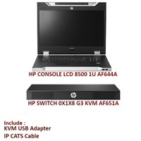 Jual HP SWITCH 0X1X8 G3 KVM CONSOLE SWITCH