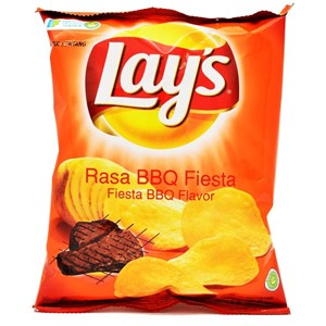 Dari Snack Lays  Fiesta Barbeque  0