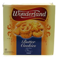 Biskuit Wonderland Butter Cookies 300 gr