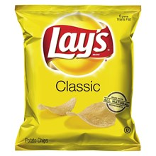 Snack Lays Classic Salty