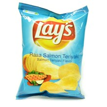 Snack Lay's Salmon Teriyaki