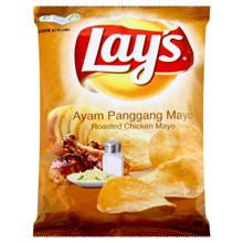 Snack Lay's Roasted Chicken Mayo