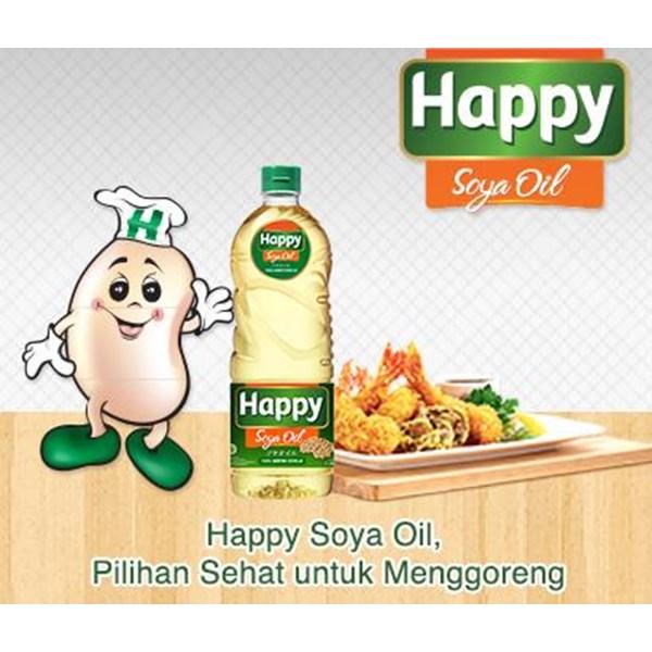 Minyak Goreng Salad Happy Soya