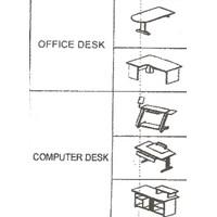 Jual Aditech Santos Meja Kantor 2