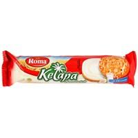 Distributor ROMA KELAPA SANDWICH VANILA 3