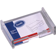 bantex bussiness card dispenser