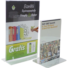 bantex stand up sign holder