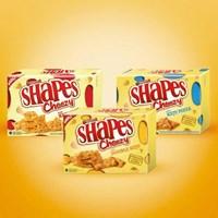 Distributor   SHAPES CHEEZY DOUBLE KEJU 80 gram  sku 024 3
