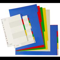Beli bantex PP colour divider 4