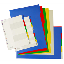 bantex PP colour divider