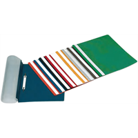 bantex quotation Folders with Coloured Back Cover 1
