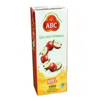 Beli abc apple juice	 4