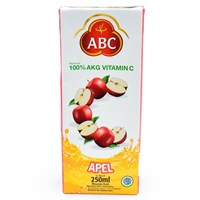 abc apple juice	 1