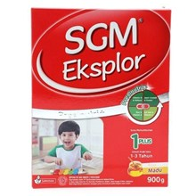 SUSU SGM EXPLOR 1 PLUS MADU 400gr