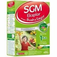 Distributor SUSU SGM  BUAH DAN SAYUR 1 PLUS 400 Gr 3