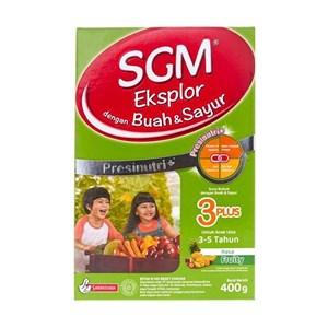 SUSU SGM BUAH DAN SAYUR 3+