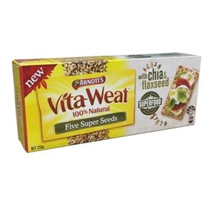 VITA-WEAT RICE CRACKERS CHEDDAR & CHIVES