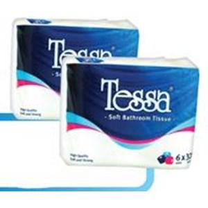 Tessa Toilet Polybag Terra 6 R