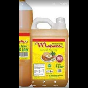 Majuan minyak goreng 18 liter